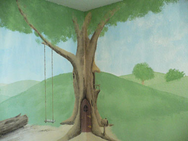 Baby's Room Mural - Commission